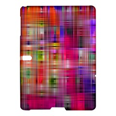 Background Abstract Weave Of Tightly Woven Colors Samsung Galaxy Tab S (10 5 ) Hardshell Case  by Simbadda