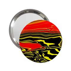 Abstract Clutter 2 25  Handbag Mirrors by Simbadda