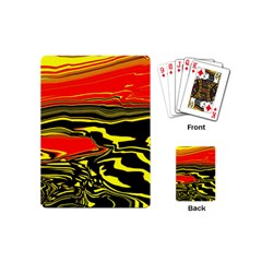 Abstract Clutter Playing Cards (mini)