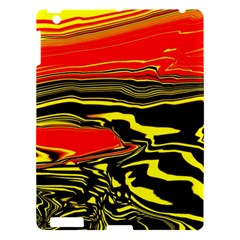 Abstract Clutter Apple Ipad 3/4 Hardshell Case by Simbadda