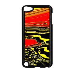 Abstract Clutter Apple Ipod Touch 5 Case (black) by Simbadda