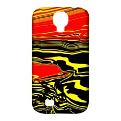 Abstract Clutter Samsung Galaxy S4 Classic Hardshell Case (pc+silicone)