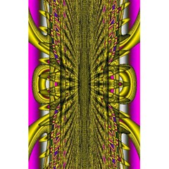 Fractal In Purple And Gold 5 5  X 8 5  Notebooks