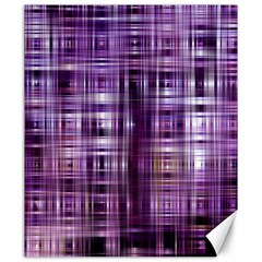 Purple Wave Abstract Background Shades Of Purple Tightly Woven Canvas 20  X 24   by Simbadda