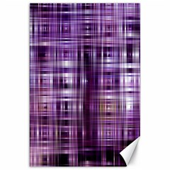 Purple Wave Abstract Background Shades Of Purple Tightly Woven Canvas 20  X 30   by Simbadda