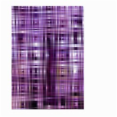Purple Wave Abstract Background Shades Of Purple Tightly Woven Large Garden Flag (two Sides) by Simbadda