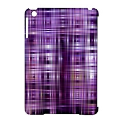 Purple Wave Abstract Background Shades Of Purple Tightly Woven Apple Ipad Mini Hardshell Case (compatible With Smart Cover) by Simbadda