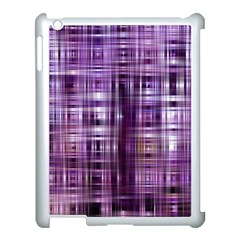 Purple Wave Abstract Background Shades Of Purple Tightly Woven Apple Ipad 3/4 Case (white)