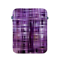 Purple Wave Abstract Background Shades Of Purple Tightly Woven Apple Ipad 2/3/4 Protective Soft Cases by Simbadda