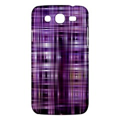 Purple Wave Abstract Background Shades Of Purple Tightly Woven Samsung Galaxy Mega 5 8 I9152 Hardshell Case  by Simbadda