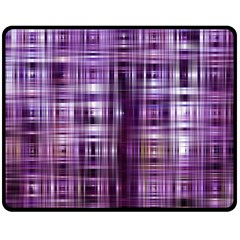 Purple Wave Abstract Background Shades Of Purple Tightly Woven Double Sided Fleece Blanket (medium)