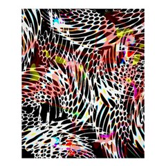 Abstract Composition Digital Processing Shower Curtain 60  X 72  (medium)