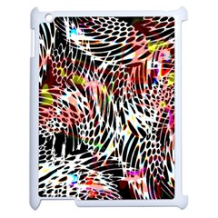 Abstract Composition Digital Processing Apple Ipad 2 Case (white) by Simbadda