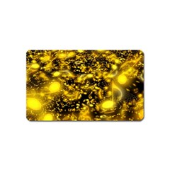 Vortex Glow Abstract Background Magnet (name Card) by Simbadda