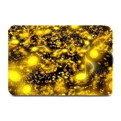 Vortex Glow Abstract Background Plate Mats by Simbadda