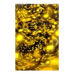 Vortex Glow Abstract Background Shower Curtain 48  X 72  (small)  by Simbadda