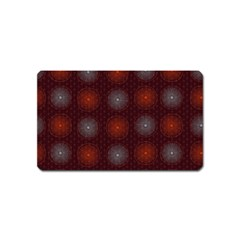 Abstract Dotted Pattern Elegant Background Magnet (name Card) by Simbadda
