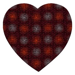 Abstract Dotted Pattern Elegant Background Jigsaw Puzzle (heart) by Simbadda
