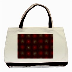 Abstract Dotted Pattern Elegant Background Basic Tote Bag (two Sides) by Simbadda