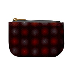 Abstract Dotted Pattern Elegant Background Mini Coin Purses