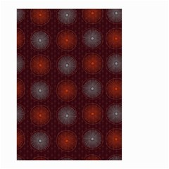Abstract Dotted Pattern Elegant Background Small Garden Flag (two Sides) by Simbadda