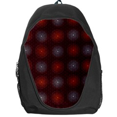 Abstract Dotted Pattern Elegant Background Backpack Bag by Simbadda