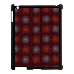 Abstract Dotted Pattern Elegant Background Apple Ipad 3/4 Case (black) by Simbadda