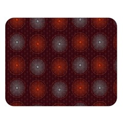 Abstract Dotted Pattern Elegant Background Double Sided Flano Blanket (large)