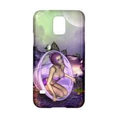 Wonderful Fairy In The Wonderland , Colorful Landscape Samsung Galaxy S5 Hardshell Case  by FantasyWorld7