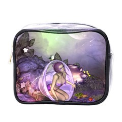 Wonderful Fairy In The Wonderland , Colorful Landscape Mini Toiletries Bags by FantasyWorld7