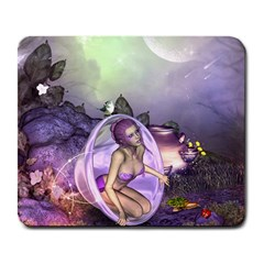 Wonderful Fairy In The Wonderland , Colorful Landscape Large Mousepads by FantasyWorld7