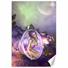 Wonderful Fairy In The Wonderland , Colorful Landscape Canvas 20  X 30   by FantasyWorld7