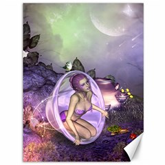 Wonderful Fairy In The Wonderland , Colorful Landscape Canvas 36  X 48   by FantasyWorld7