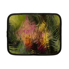 Abstract Brush Strokes In A Floral Pattern  Netbook Case (small)