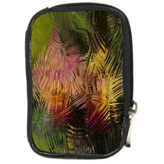 Abstract Brush Strokes In A Floral Pattern  Compact Camera Cases