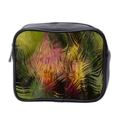 Abstract Brush Strokes In A Floral Pattern  Mini Toiletries Bag 2 Side by Simbadda