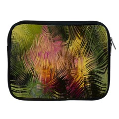 Abstract Brush Strokes In A Floral Pattern  Apple Ipad 2/3/4 Zipper Cases by Simbadda