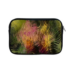 Abstract Brush Strokes In A Floral Pattern  Apple Ipad Mini Zipper Cases by Simbadda