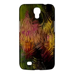 Abstract Brush Strokes In A Floral Pattern  Samsung Galaxy Mega 6 3  I9200 Hardshell Case