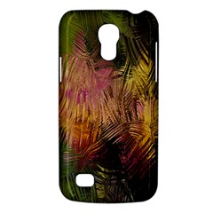 Abstract Brush Strokes In A Floral Pattern  Galaxy S4 Mini by Simbadda