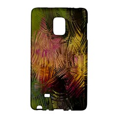 Abstract Brush Strokes In A Floral Pattern  Galaxy Note Edge by Simbadda