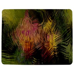 Abstract Brush Strokes In A Floral Pattern  Jigsaw Puzzle Photo Stand (rectangular) by Simbadda