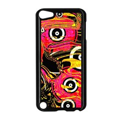 Abstract Clutter Pattern Baffled Field Apple Ipod Touch 5 Case (black)