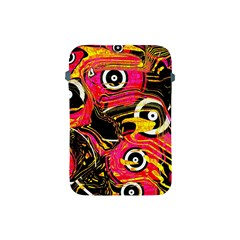 Abstract Clutter Pattern Baffled Field Apple Ipad Mini Protective Soft Cases by Simbadda