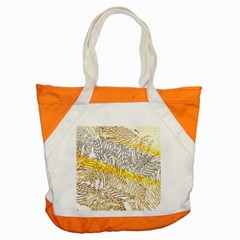 Abstract Composition Pattern Accent Tote Bag by Simbadda
