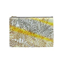 Abstract Composition Pattern Cosmetic Bag (medium)  by Simbadda