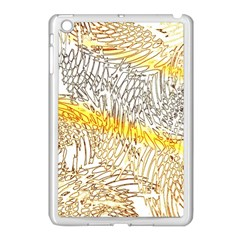 Abstract Composition Pattern Apple Ipad Mini Case (white) by Simbadda