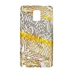 Abstract Composition Pattern Samsung Galaxy Note 4 Hardshell Case by Simbadda