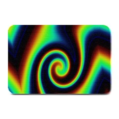 Background Colorful Vortex In Structure Plate Mats by Simbadda