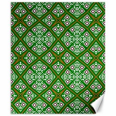 Digital Computer Graphic Seamless Geometric Ornament Canvas 8  X 10  by Simbadda